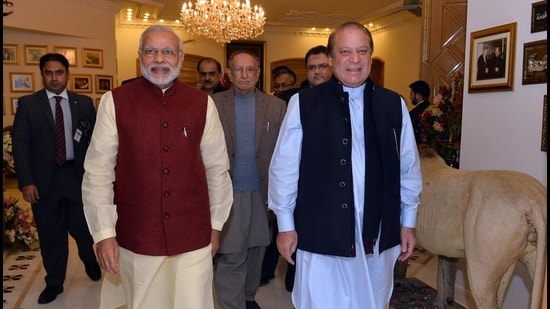 PM Modi's first foray at peace-making with Pakistan had been directed at its civilian leadership. That completely miffed the generals. The situation is different this time, with a military-to-military statement (PIB)