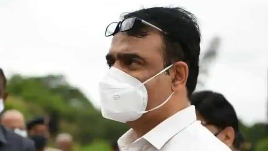 Karnataka Deputy Chief Minister Dr C N Ashwath Narayan.(Twitter)
