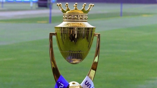 The 2018 Asia Cup Trophy, which was lifted by India. (Getty Images)