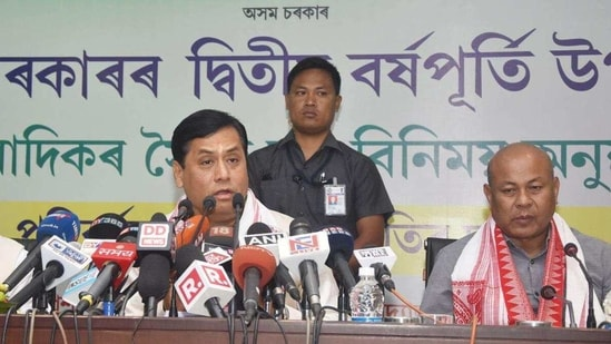 The BJP had earlier said it will not have any alliance with its existing ally BPF in the assembly polls.(Rajib Jyoti Sarma/HT file photo)