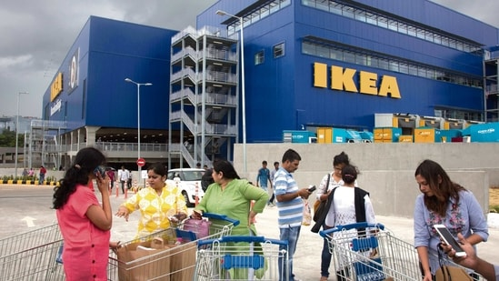 Besides toys, the range covers beds and mattresses specifically made for children, ergonomic storage and seating solutions made for a child, among others. IKEA said the India Toy Fair would help it connect with new partners and understand the ecosystem here.(Associated Press)