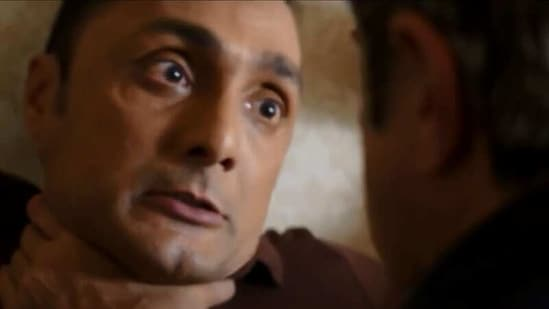 Anil Kapoor went on to strangle Rahul Bose with a wire and had to be reminded that it was just a shoot.