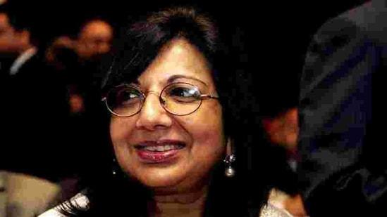 Biocon Chairperson Kiran Mazumdar Shaw(HT File Photo)