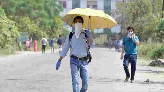 The rise in temperature in Mumbai city was in line with IMD's forecast for the day. (HT FILE PHOTO).