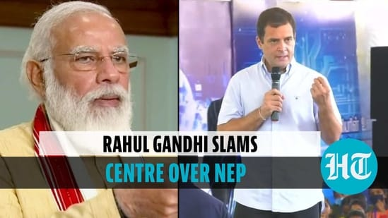 'Centre used NEP 2020 as weapon to communalise': Rahul Gandhi in Tamil Nadu