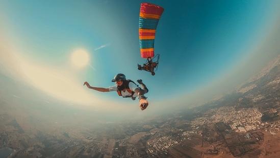Skydiver Sajid Chougle