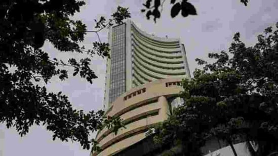 Key benchmark index Sensex dropped by 1,786 points or 3.46 per cent last week amid weak global cues.(Bloomberg)