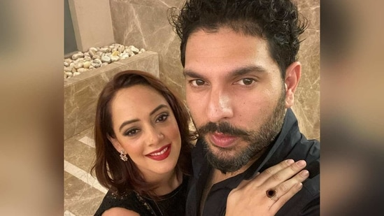 Yuvraj Singh and Hazel Keech got married in 2016.