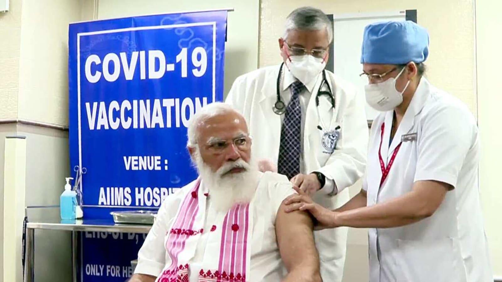 PM Modi gets first shot as second leg of inoculation drive begins   Latest News India - Hindustan Times