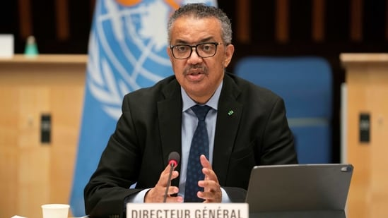 WHO Director-General suggested that countries were hastening to loosen those measures, betting on vaccines to bring an end to the Covid-19 pandemic.(REUTERS)