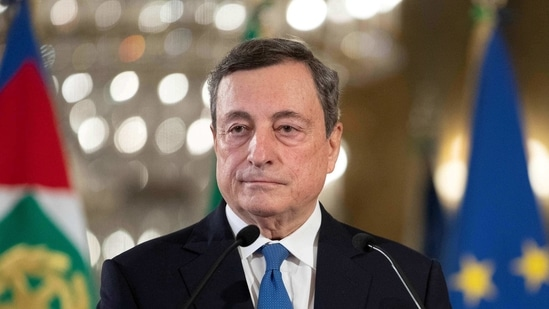 Italy PM Mario Draghi (REUTERS/File Photo)