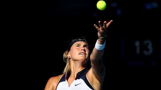 Belarus' Aryna Sabalenka: File photo(REUTERS)