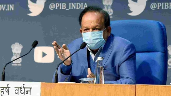 Union minister for health and family Welfare Dr. Harsh Vardhan added that questioning of the vaccines is politically motivated..(ANI)