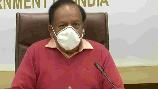 Harsh Vardhan said that he would do the booking of the vaccine today and plans to get vaccinated tomorrow.