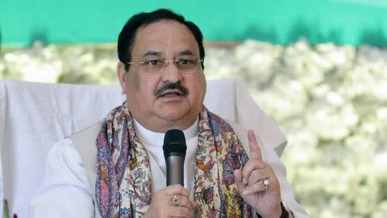 BJP National President JP Nadda(ANI Photo)