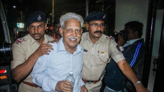 Telugu poet P Varavara Rao. (FILE PHOTO)