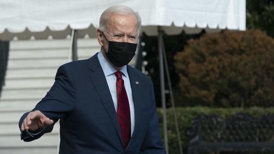 US President Joe Biden. (Bloomberg Photo )