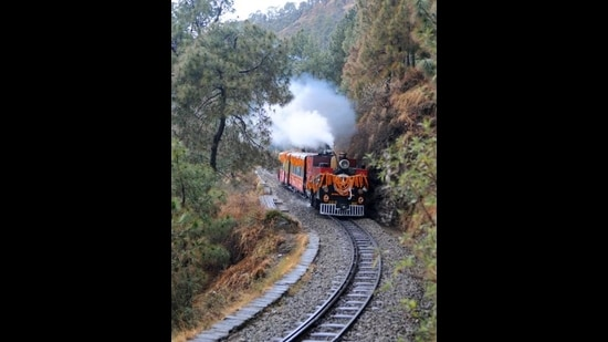 Railway authorities have been directed to replace old coaches, which will enhance the tourist experience. (HT File)