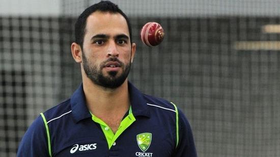 Australian legspinner Fawad Ahmed(Twitter)