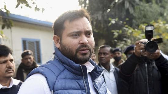 RJD leader Tejashwi Yadav.(PTI)