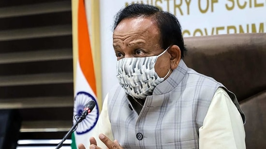 """The scientific community rose to the occasion during the pandemic,"" Harsh Vardhan said.(PTI)"