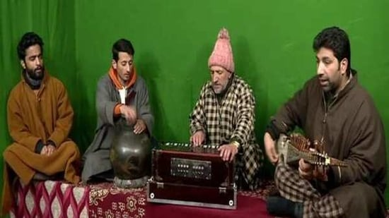 With the help of some senior folk singers, the young artistes are making musical albums in a private studio and selling them in the local market.(ANI)