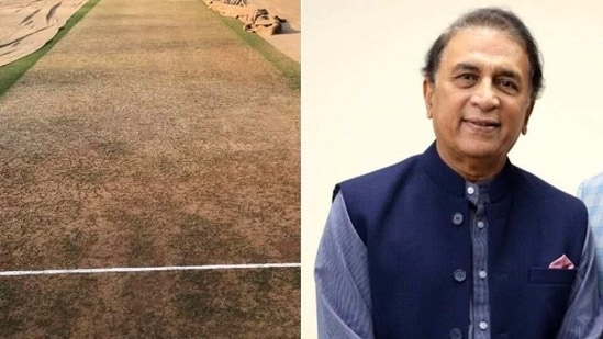 'I don't think the pitch will be very different' - Sunil Gavaskar(HT Collage)