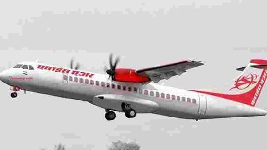 Alliance Air, a subsidiary of Air India, on Monday launched its flight services under the Centre's UDAN scheme in Bilaspur town of Chhattisgarh, connecting it with Delhi. (HT File Photo)