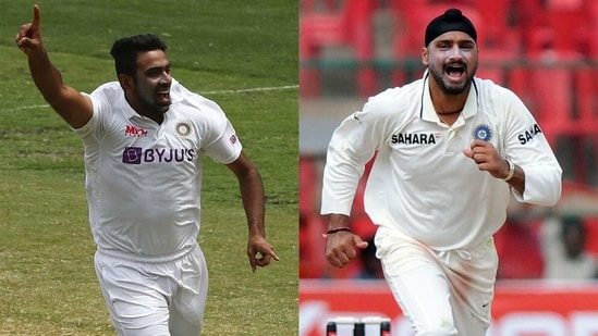 R Ashwin and Harbhajan Singh have been the spin leaders of their respective eras. (Getty Images)