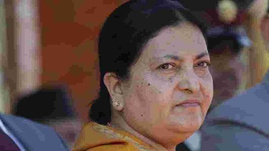 File photo of Nepalese President Bidya Devi Bhandari(AP)