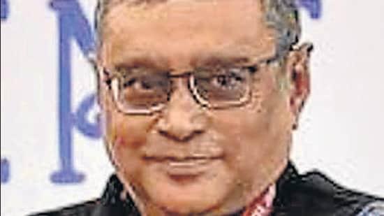BJP ;eader Swapan Dasgupta. (HT archive)