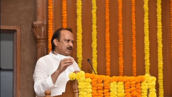 The supplementary statement of expenditure 2020-21 was tabled by the deputy chief minister and finance minister Ajit Pawar in the state assembly on Monday. (HT File)