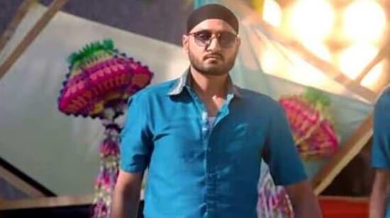Harbhajan Singh seen in the teaser of his upcoming movie Friendship(Youtube/Screengrab)
