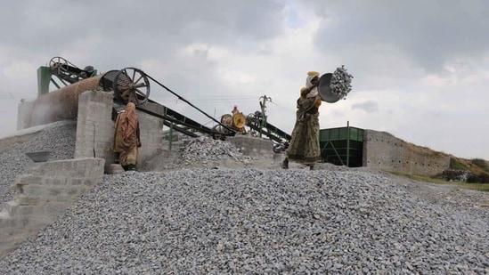A stone crusher at work.(Representational photo)
