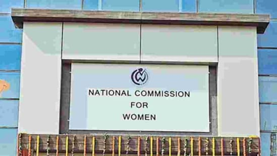 The apex women rights body has also written to the chief election commissioner and has sought a detailed action, the statement added.(HT Photo)