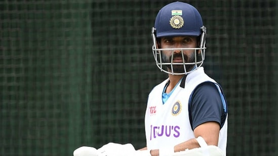 Ajinkya Rahane in the nets(Getty Images)