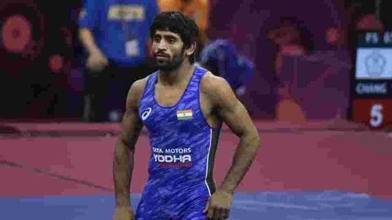Indian wrestler Bajrang Punia.(Vipin Kumar/HT PHOTO)
