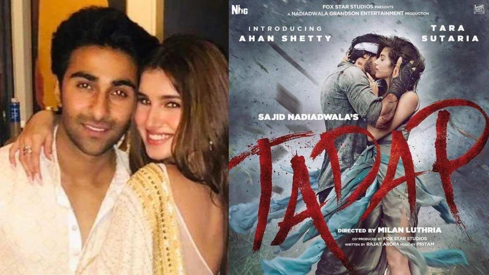 Tara Sutaria showers boyfriend Aadar Jain with love as he hypes up Tadap: 'My whole heart' - Hindustan Times