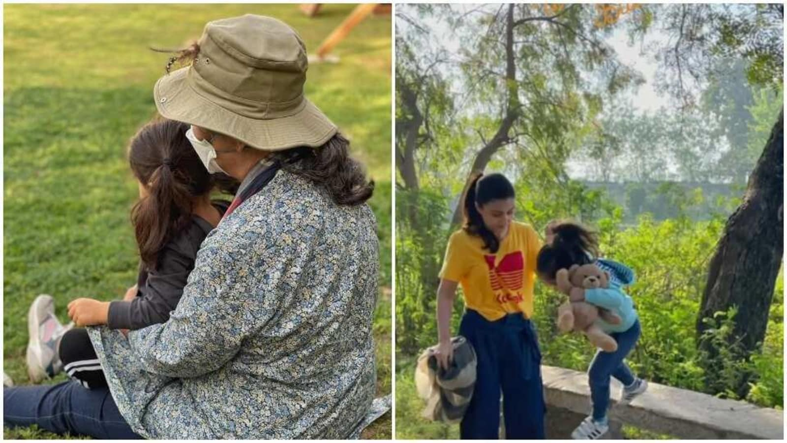 After reunion with grandma Sharmila Tagore in Pataudi, Inaaya goes on nature walk with mom Soha Ali Khan - Hindustan Times