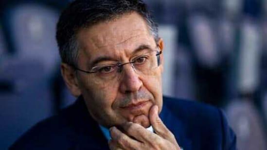 File photo of Josep Maria Bartomeu(AP)
