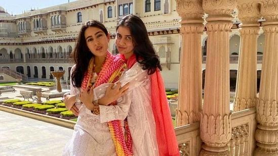 Sara Ali Khan and Sara Vaisoha(Instagram)