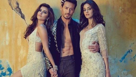 Tara Sutaria, Tiger Shroff and Ananya Panday(Instagram)