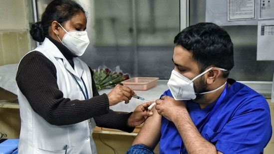 Experts say that one develops immunity against the virus 14 days after the second shot of the vaccine which is taken after a minimum of 28 days of the first shot. (ANI PHOTO) (Image used for representation).
