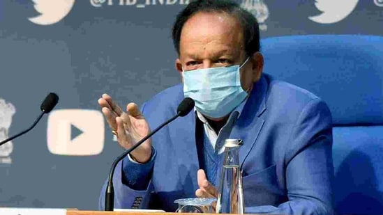 Union health minister Harsh Vardhan will get vaccinated for Covid today(ANI)