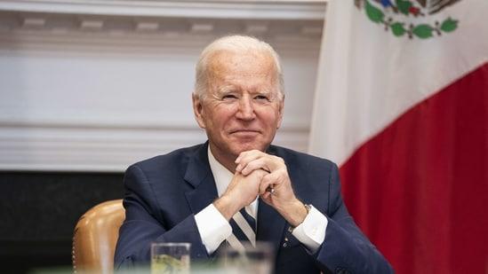 "US President Joe Biden called the jailing of Navalny ""politically motivated.""(Bloomberg)"