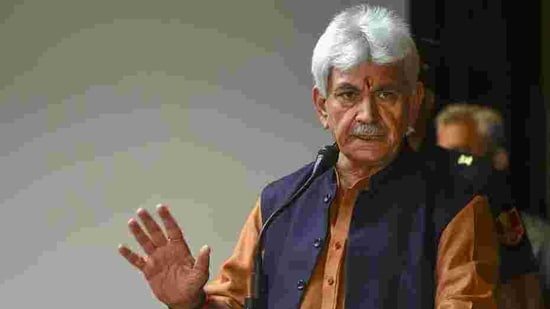 Jammu and Kashmir Lt Governor Manoj Sinha. (File photo)