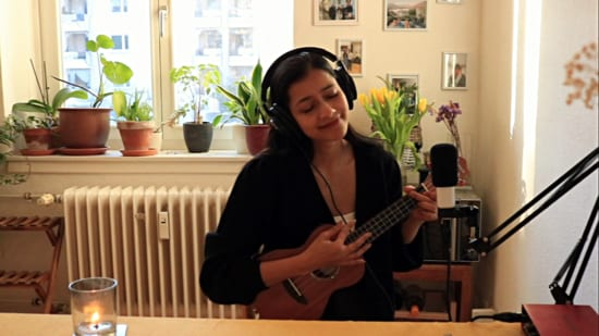Singer-songwriter Tanmaya Bhatnagar performed as part of the virtual TEDx event held online recently.
