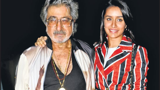 Dad Shakti Kapoor talks about his little girl , says she has a heart of gold.