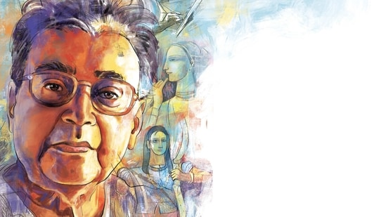 Ganesh Pyne's works reflected the tumultuous period of anger and despair in Bengal. Illustration: Mohit Suneja