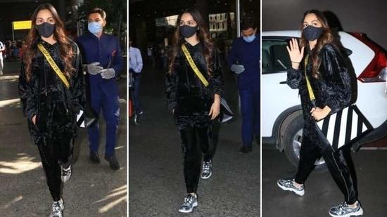 Kiara Advani at the airport(Varinder Chawla)